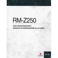 SUZUKI RM-Z 250 L1 modèle 2011 (04 / 2010)