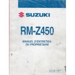 SUZUKI RM-Z 450 K5 modèle 2005 (08 / 2005)