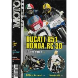 MOTO LEGENDE N° 135 ma1 2003