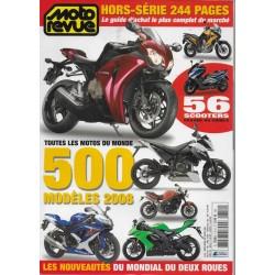 MOTO REVUE Spécial Salon 2008 (710H)
