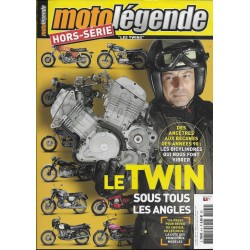 """MOTO LEGENDE Hors-Série 4H """"Les Twins"""""""