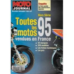 MOTO JOURNAL toutes les motos 1995