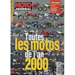 MOTO JOURNAL toutes les motos 2000