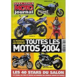 MOTO JOURNAL toutes les motos 2004