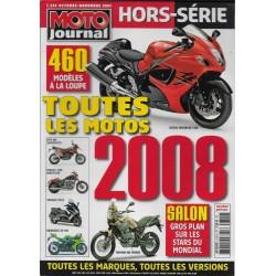 MOTO JOURNAL toutes les motos 2008