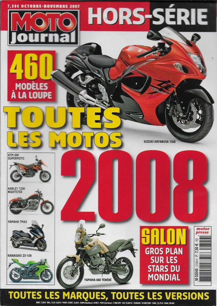 Moto Journal Toutes Les Motos 2008 La Librairie Du Motard