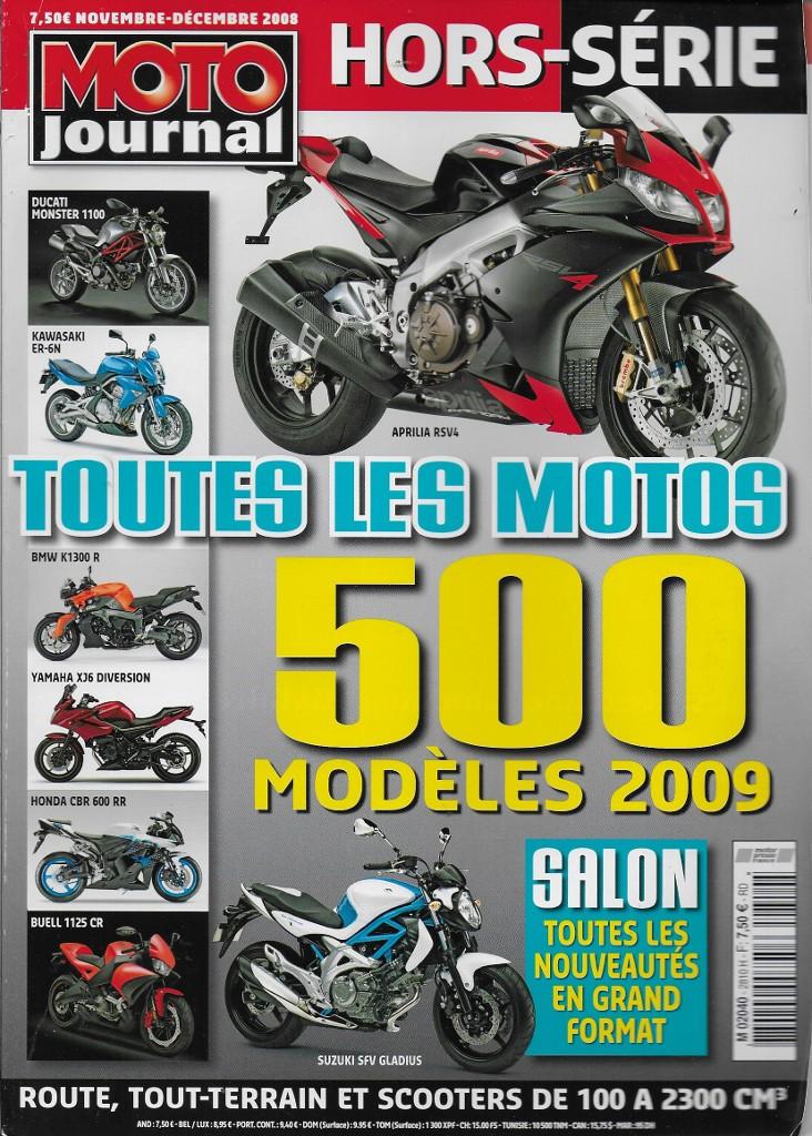 Moto Journal Toutes Les Motos 2009 La Librairie Du Motard