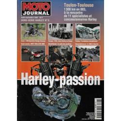 """MOTO JOURNAL Hors Série """"HARLEY"""" (08 / 09 / 1997)"""