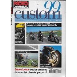 MOTO JOURNAL Spécial Custom 99 (mai-juin 1999)