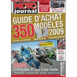 MOTO JOURNAL Guide d'achat de 350 modèles 2009