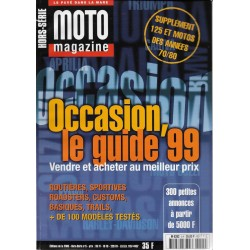 MOTO MAGAZINE GUIDE OCCASION 1999