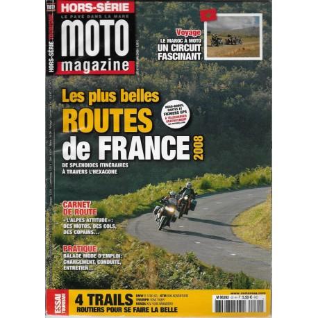 """MOTO MAGAZINE """"les plus belles routes de France"""" 2008"""