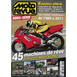 MOTO REVUE HS les motos mythiques de 1980 à 2011