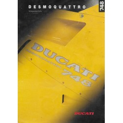 DUCATI prospectus Ducati 748 de 1995
