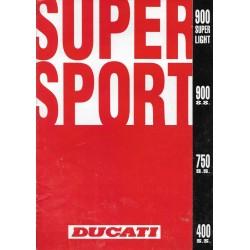 DUCATI Supersport 900 SL / 900 SS / 750 SS / 400 SS