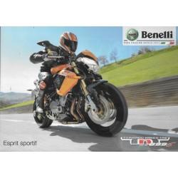 Prospectus Benelli TNT 899 S