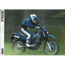 Prospectus YAMAHA XT 600 E 1990