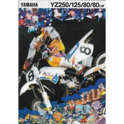 Catalogue YAMAHA YZ 250 / 125 / 80 / 80LW de 1994