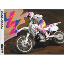 Catalogue YAMAHA YZ 250 / 125 / 80 de 1994