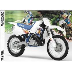 Prospectus YAMAHA WR 250 Z de 1994