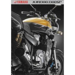 Catalogue original YAMAHA XJR 1300 / 1300 SP (2001)