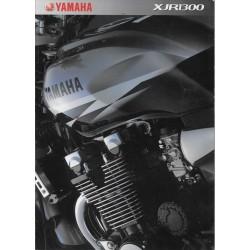 Catalogue original YAMAHA XJR 1300 de 2002