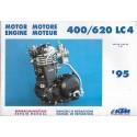 KTM 400 / 620 LC4 de 1995 (manuel atelier moteur)