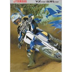 YAMAHA YZ / WR 250 F de 2001 (prospectus)