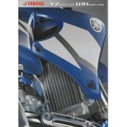 YAMAHA YZ 426 F / 250 F et WR 426 F / 250 F de 2002 (catalogue)