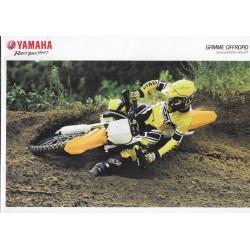 YAMAHA OFF-ROAD de 2015 (catalogue)