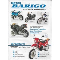 BARIGO SM 600 Supermotard (prospectus 1993)