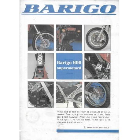 BARIGO 600 Supermotard (Prospectus de 1992)