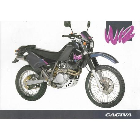 CAGIVA 350 W 12 (prospectus)