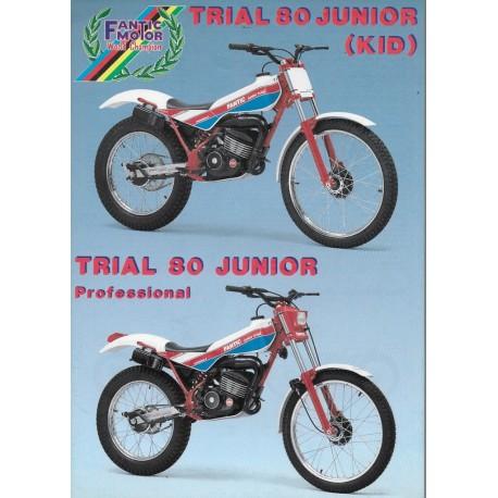 FANTIC Trial 80 JUNIOR Kid / Professional 1987 (prospectus)