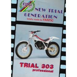 FANTIC Trial 303-243-125 Professional de 1987 (prospectus)