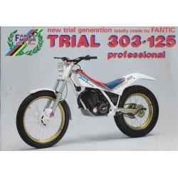 FANTIC Trial 303-125 Professional de 1987 (prospectus)