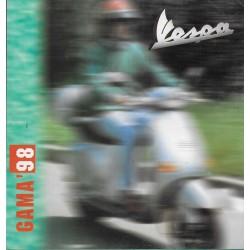 VESPA Gamme scooters 1998 (prospectus en italien)