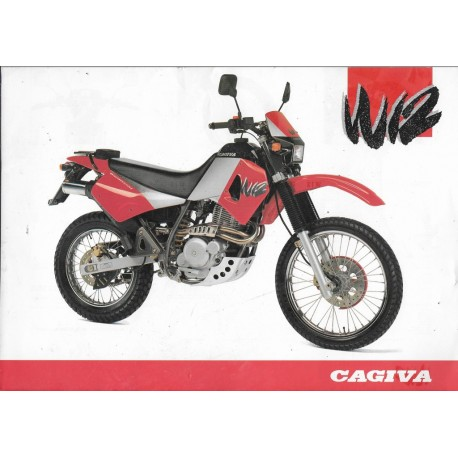CAGIVA 350 W12 (prospectus)
