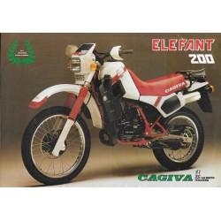 CAGIVA 200 ELEFANT (prospectus)