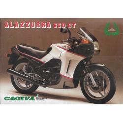 CAGIVA 650 GT ALAZZURRA (prospectus)