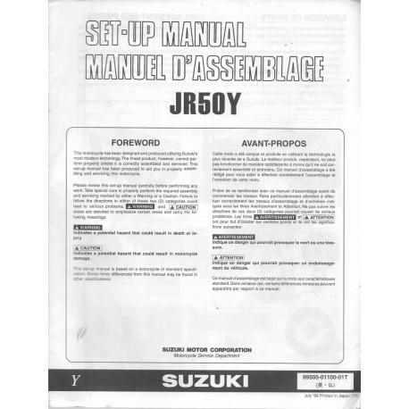SUZUKI JR 50 Y 1999 (manuel assemblage 07 / 1999)