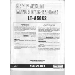 SUZUKI LT-A50K2 (manuel assemblage 10 / 2000)