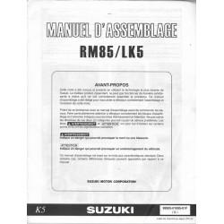 SUZUKI RM 85 / LK 5 2005 (manuel assemblage 07 / 2004)