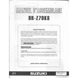 SUZUKI DR-Z 70 K8 de 2008 (manuel assemblage 06 / 2007)