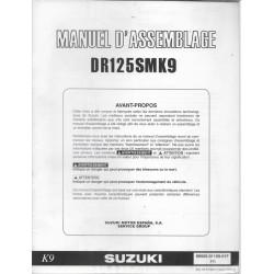 SUZUKI DR 125 SM K9 (manuel assemblage 09 / 2008)