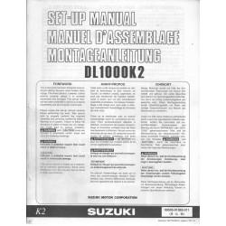 SUZUKI DL 1000 K2 de 2002 (manuel assemblage 01 / 2002)