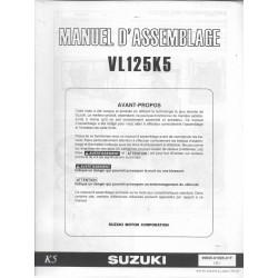 SUZUKI VL 125 K5 de 2005 (manuel assemblage 04 / 2004)