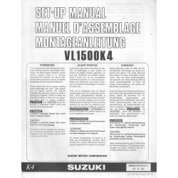 SUZUKI VL 1500 K4 de 2004 (manuel assemblage 07 / 2003)