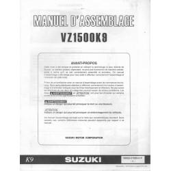 SUZUKI VZ 1500 K9 de 2009 (manuel assemblage)