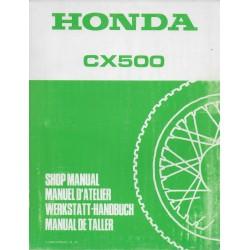 HONDA CX 500 (Manuel de base)